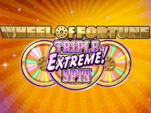 Реальный азарт в Колесо Фортуны: Тройной Экстремальный Спин в демо игре